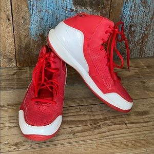 Under Armour Red High Top Sneakers